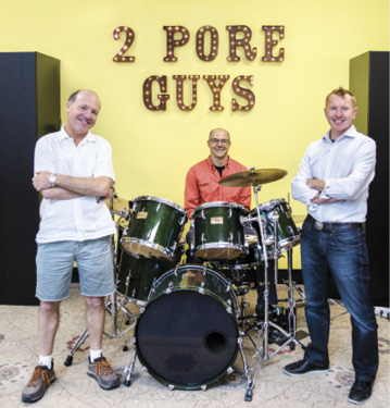 2 Pore Guys at drums