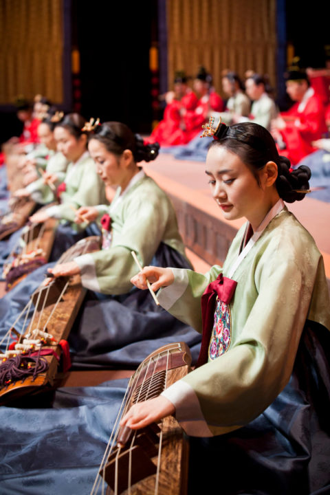 Photo of the Creative Traditional Orchestra of the Korean National Gugak Center